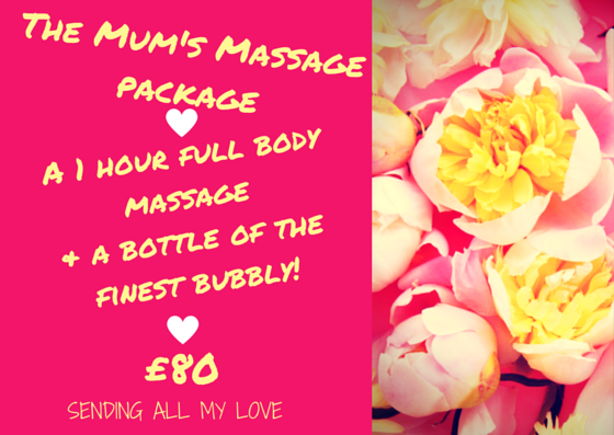 The Mum's Massage Package