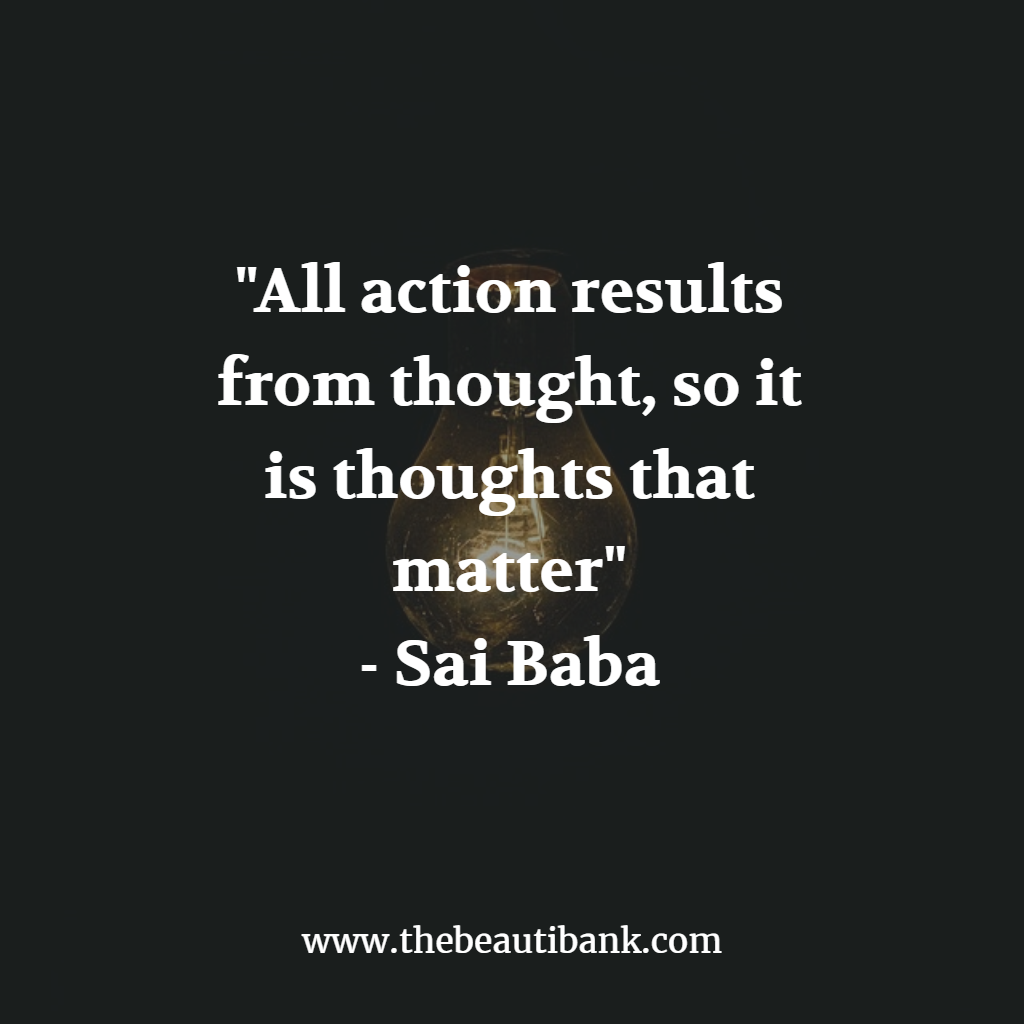 thoughts, action, beauty